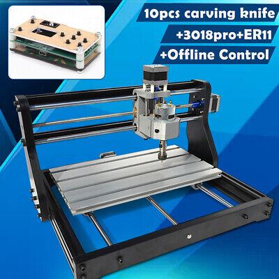 Cnc 3018pro Router Laser Engraving Machine Pcb Wood Diy Carving Millingoffline