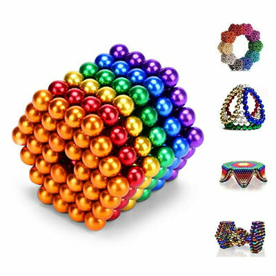 35mm Magnets Magic Balls Beads 3d Puzzle Ball Sphere Magnetic Toys-6 Colors