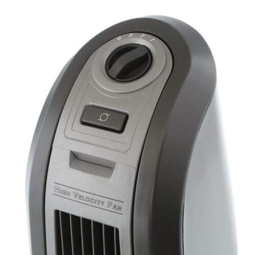 Lasko HVB High-Velocity Blower Floor Fan Gray 4924