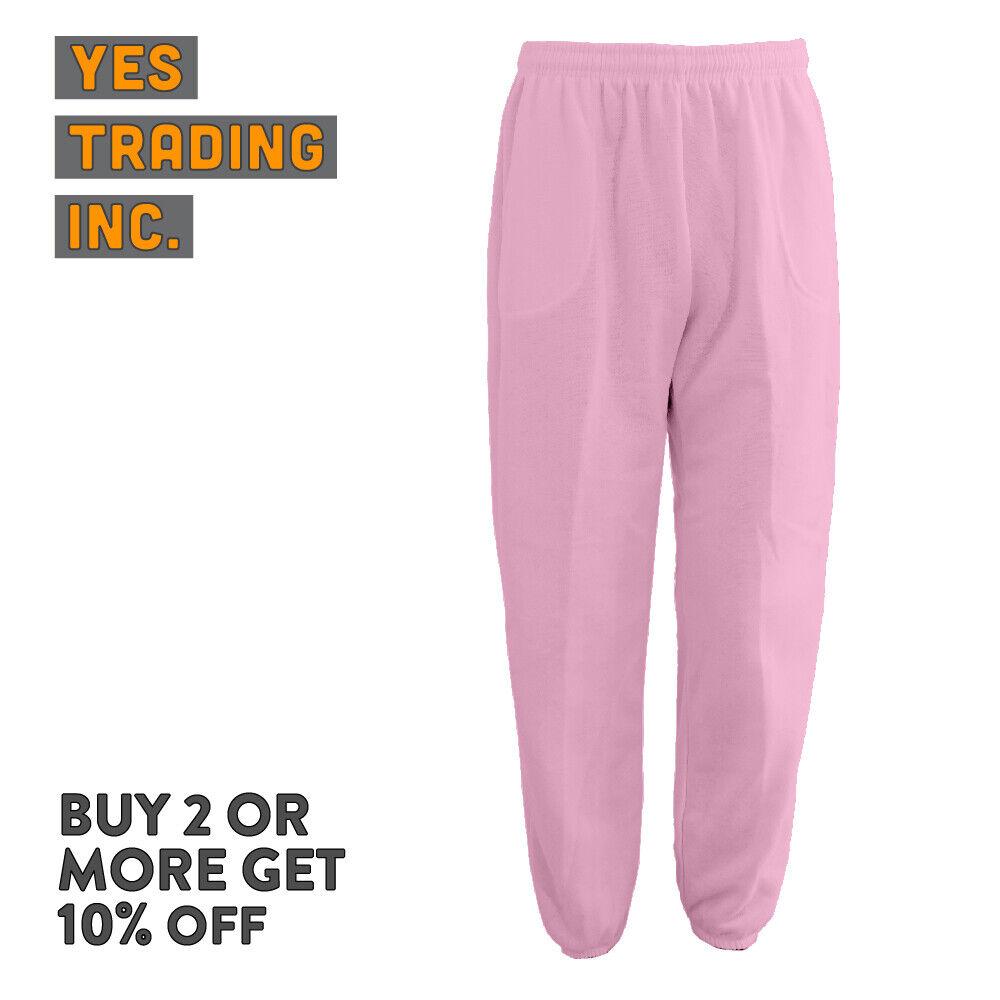 Купить Hill Sportswear - MENS WOMENS UNISEX PLAIN SWEATPANTS 3 POCKET CASUAL JOGGERS FLEECE PANTS GYM