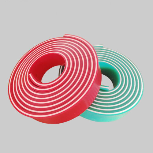 """65/90/65 Triple Durometer Screen Printing Red Squeegee Blade roll 144""""/12 FT"""