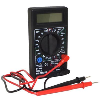 Handheld Digital Multimeter Acdc Voltage Amper Ohm Temperature Meter Tester