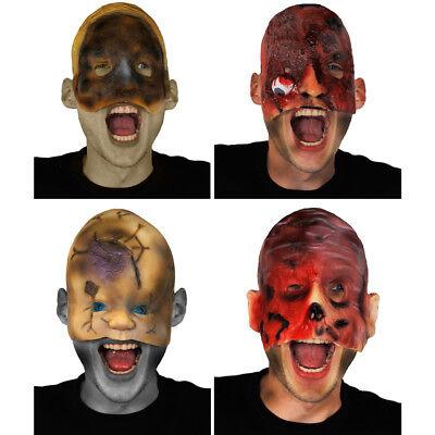 CLEARANCE HALLOWEEN MASK ADULT HORROR GORY FACE FLESH NIGHTMARE SCAR FANCY DRESS (Halloween Masks Clearance)