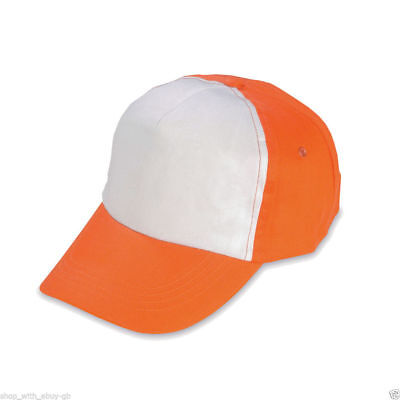 Ash Pikachu Orange Baseball Cap White Front Dress Up ()