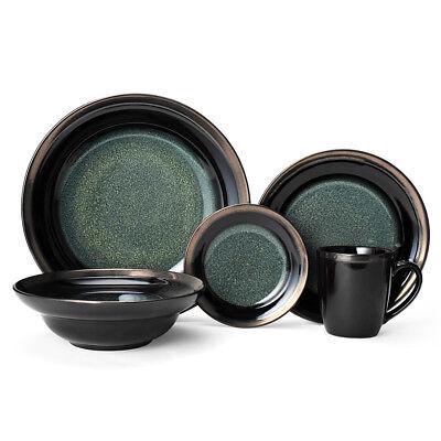 Gourmet Basics Jade 20 Piece Dinnerware Set