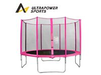 Pink 10 Ft trampoline safety net