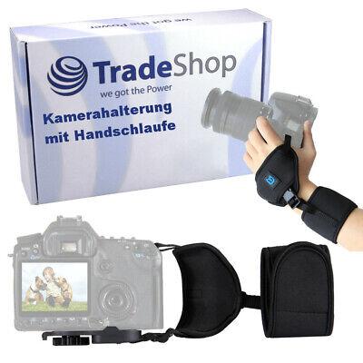 Kameragurt Halterung Neopren mit Handschlaufe für Samsung Spiegelreflexkameras