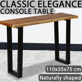 Console Table Solid Suar Wood 110x35x75 cm-245504