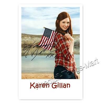 Karen Gillan alias Amy Pond aus Doctor Who - Autogrammfotokarte [A01] 