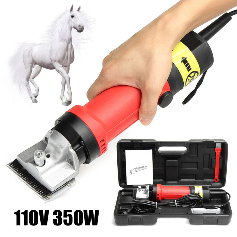 350W Heavy Duty Pet Dog Clipper Shear Trimmer Horse Cattle Animals Hair Cutter