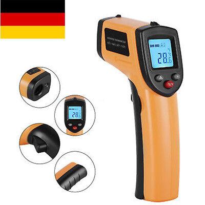 Thermometer IR Infrarot Digital Laser Temperatur Messgerät Messung -50 bis 380°C
