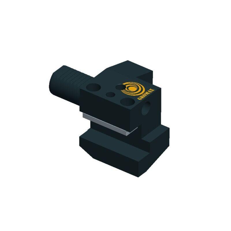 """C2-4025 VDI Square Holder Left Hand D=40mm H1=1"""""""