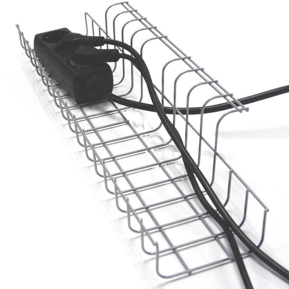 kabel organizer kabelf hrung kabelschlauch. Black Bedroom Furniture Sets. Home Design Ideas