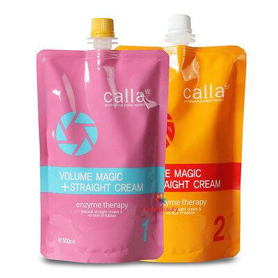 [Volume Rebonding] Calla Volume Magic Straight Cream 500g+500g for professional