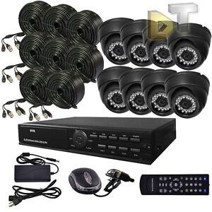 DNT-8CH-CHANNEL-Home-Video-Surveillance-CCTV-DVR-Security-System-8-color-Camera
