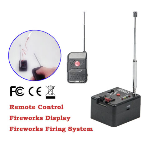 Single Cue Remote Wireless Fireworks Firing System Four Fire Modes EMB01-01R
