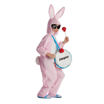 Bunny Costume For Kids (Kids Energizer Bunny Mascot)