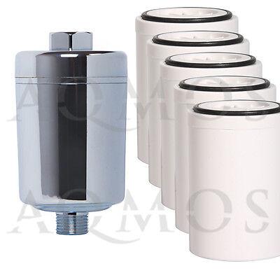 Duschfilter mit Ersatzfilter Kalkfilter Allergie Reisefilter Enthärter