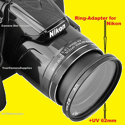 nikon coolpix b700 lens nikon coolpix p610 p600 b700 gt ring adapter 62mm 989