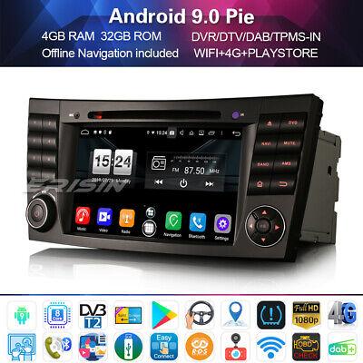 8-Kern DAB+Autoradio Android 9.0 für Mercedes Benz E/CLS/G Klasse W211 W219 WIFI