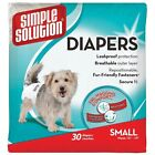 Female Adult Dog Disposable Dog Diapers Bands