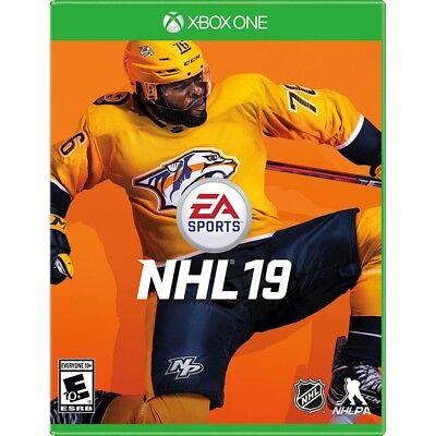 NEW! NHL 19 (Microsoft XBOX ONE) HOCKEY - SEALED!!! FAST FREE SHIPPING!!!