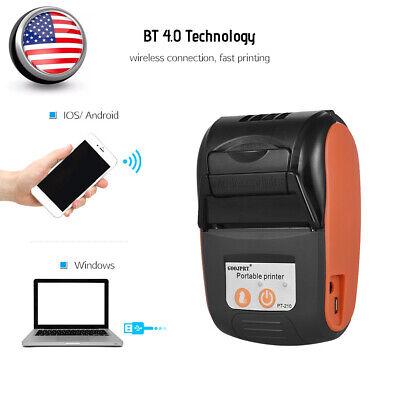 Goojprt 58mm Mini Btusb Pocket Pos Thermal Receipt Printer For Android Ios Wins