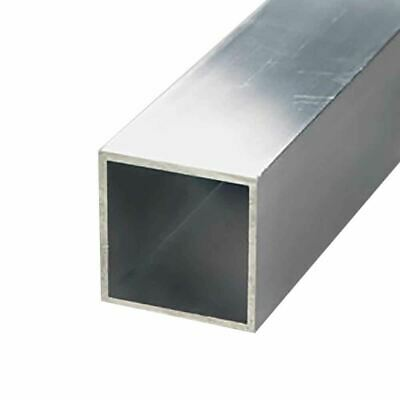 6063-t52 Aluminum Square Tube 1-14 X 1-14 X 116 Wall X 12 Long