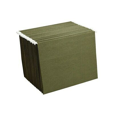 Staples Hanging File Folders Letter Size Standard Green 25box 521229