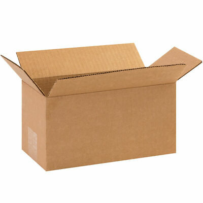 25 - 10 x 5 x 5 Corrugated Shipping Boxes Storage Cartons Moving Packing Box