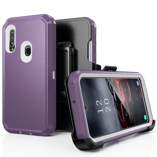 For Samsung Galaxy A10e/A20/A30/A50 Shockproof Heavy Duty Stand Phone Case Cover