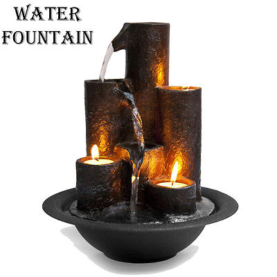SereneLife SLTWF20 Water Fountain - Relaxing Tabletop Water