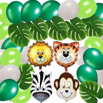Jungle Party  Tiger Tiger Safari Animals Balloons Zoo Birthday Party Decorations - Jungle Birthday Party