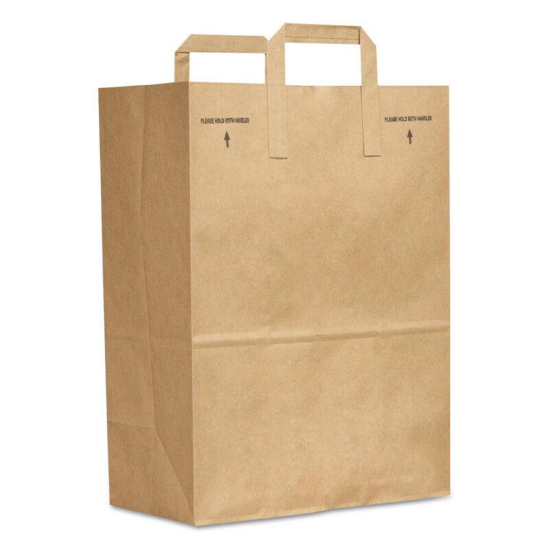 Paper Bags & Sacks 1/6 Bbl Paper Grocery Bag, 70lb Kraft, Standard 12 X 7 X 17,