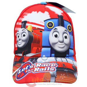 Thomas-Tank-Engine-Friends-Kids-Hat-Thomas-James-Baseball-Cap-Lets-Race