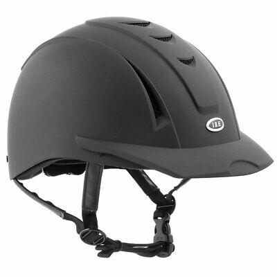 NEW IRH Equi-Pro DFS Riding Helmet - Black - Medium / -