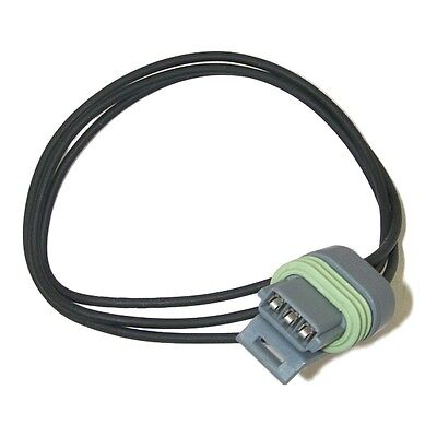Parts Master 84052 3-Wire Multi-Purpose Multi-Use Gray Pigtail Connector