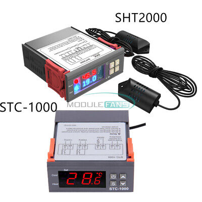 Digital Temperature Humidity Stc-1000sht2000 110-220230v Controller Thermostat