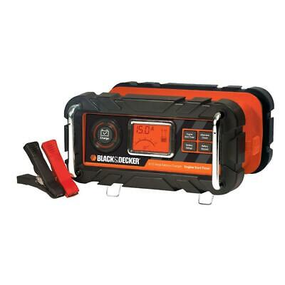 BRAND NEW! Best Automatic 15Amp Battery Charger Black + Decker 40A Engine