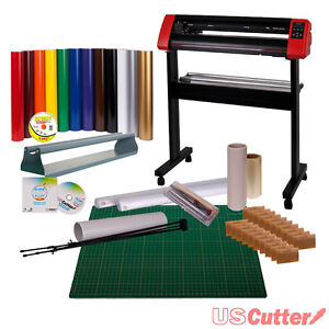 Vinyl Cutter Bundle -  Sign Cutting Plotter w/ Sure Cuts A Lot Pro Design Sale