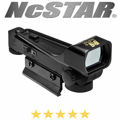 Ncstar Tactical Rifle Pistol Red Dot Reflex Sight Optic Led Weaver Mount Reticle
