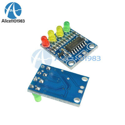 12v Electric Quantity 4 Power Indicator Battery Detection Module For Arduino New