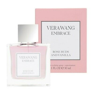 Vera Wang Embrace Rose Buds and Vanilla Eau de Toilette Spray 1 oz. New in