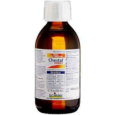 Boiron Chestal Honey Cough - Chest Congestion Syrup 6.7 oz