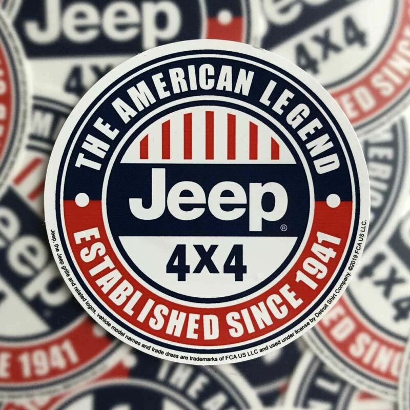 Sticker - Jeep® The American Legend