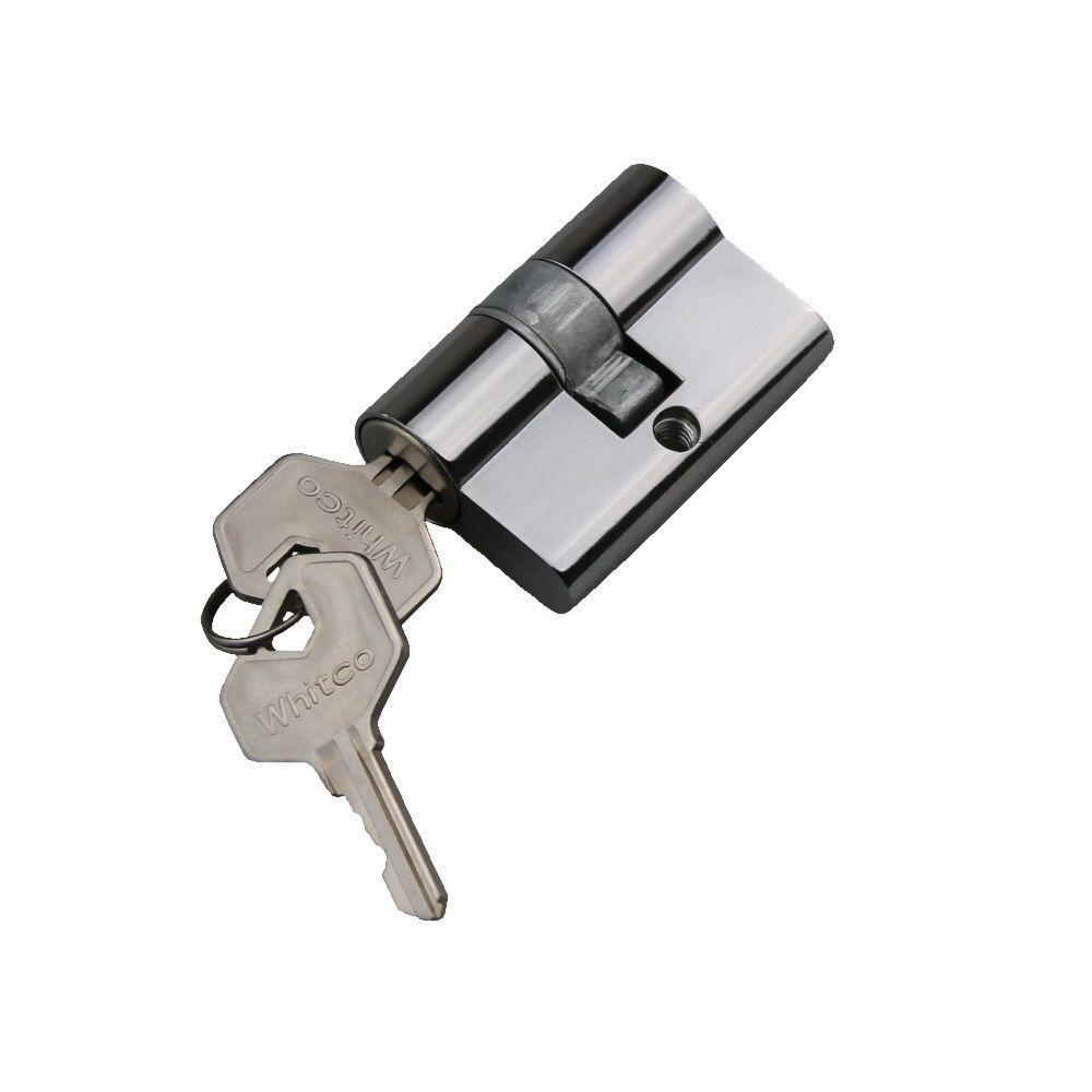 Whitco Security Screen Door Lock Cylinder X2 Keyed Alike Lockwood