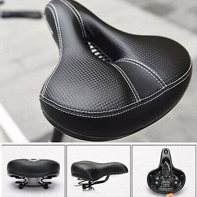 Extra Breit Bequem Gepolstert Fahrradsitz Weich Fahrrad Schwamm Universal Sattel