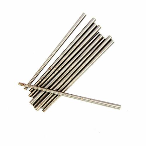"Steel Taper Pins #2 Diameter x 4"" Length x 0.193"" Large End Diameter (10 pcs)"
