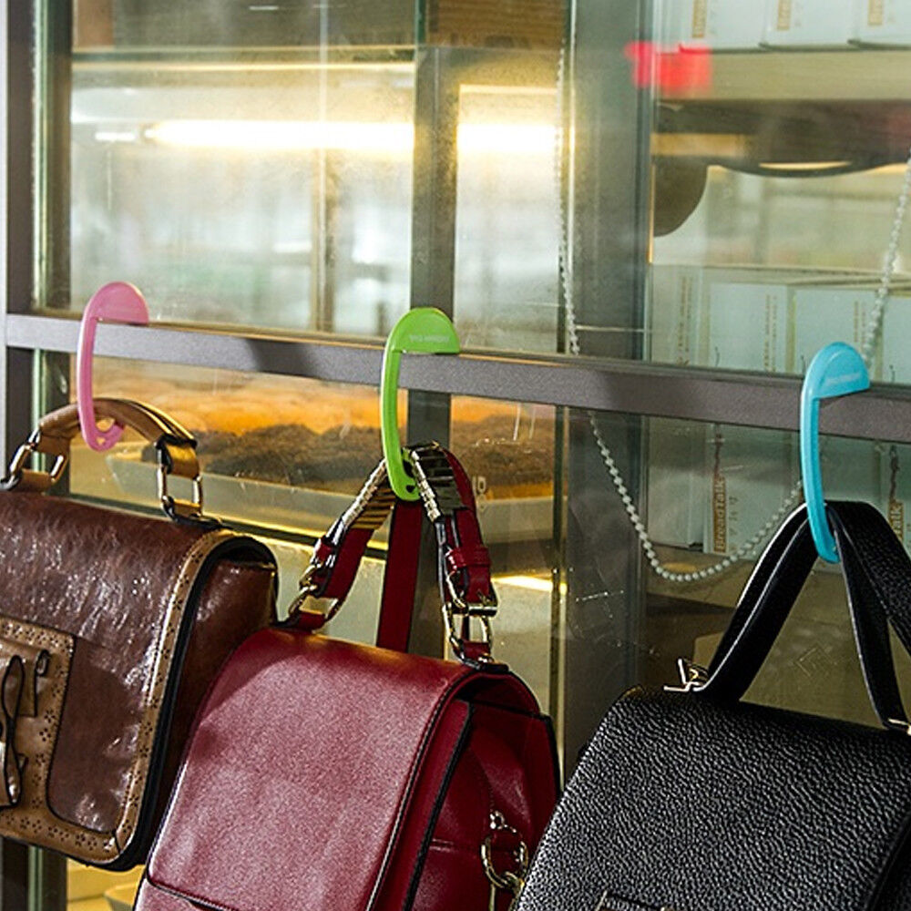 Portable Bag Hooks for Hanging Table Purse Bag Hook Wall Hanger Handbag Holder & Portable Bag Hooks for Hanging Table Purse Bag Hook Wall Hanger ...