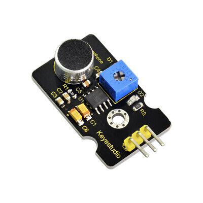 Keyestudio Microphone Sound Sensor With Potentiometer For Arduino Diy Project